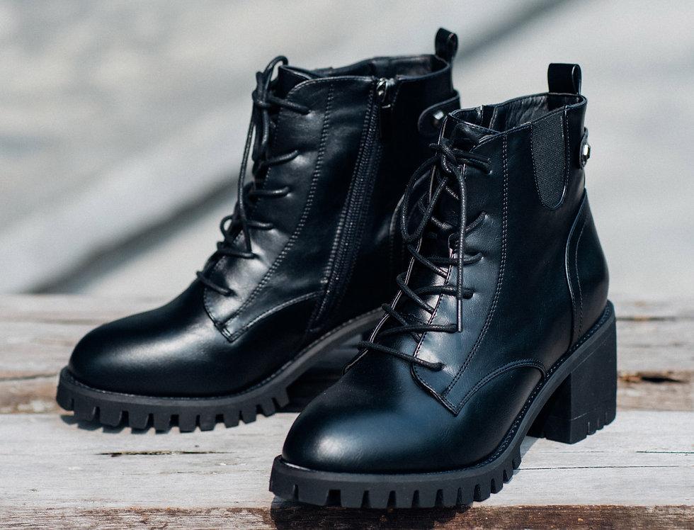 เช่ารองเท้าหนังส้นสูง หญิง รุ่น ROCK | SHAPMBK