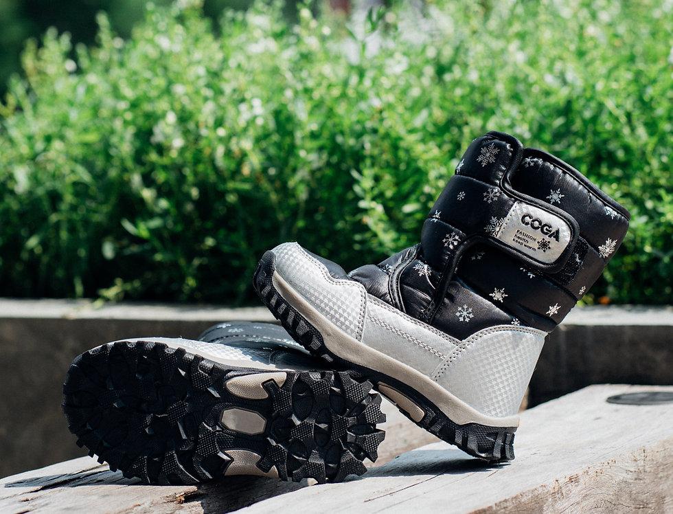 รองเท้าบูทเดินหิมะ เด็ก รุ่น PUFFIN