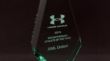 Winner of the Under Armour Breakthrough Athlete of the Year