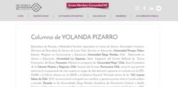 Columna Yolanda Pizarro - Mujeres Influyentes