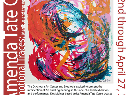 Solo Exhibition at the Oskaloosa Art Center