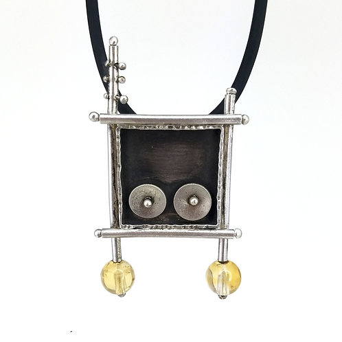 Pin/Pendant Miro-Inspired