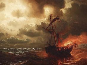 Brændte skibe