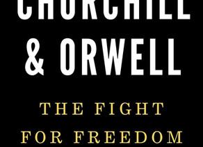 """""""Churchill & Orwell"""" av Thomas E. Ricks."""