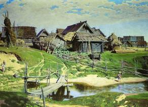 """Landsbyen"" av Ivan Bunin."