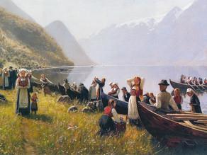 Så rodde dei fjordan