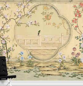 Emperor Garden In Brown -  Brown Chinois