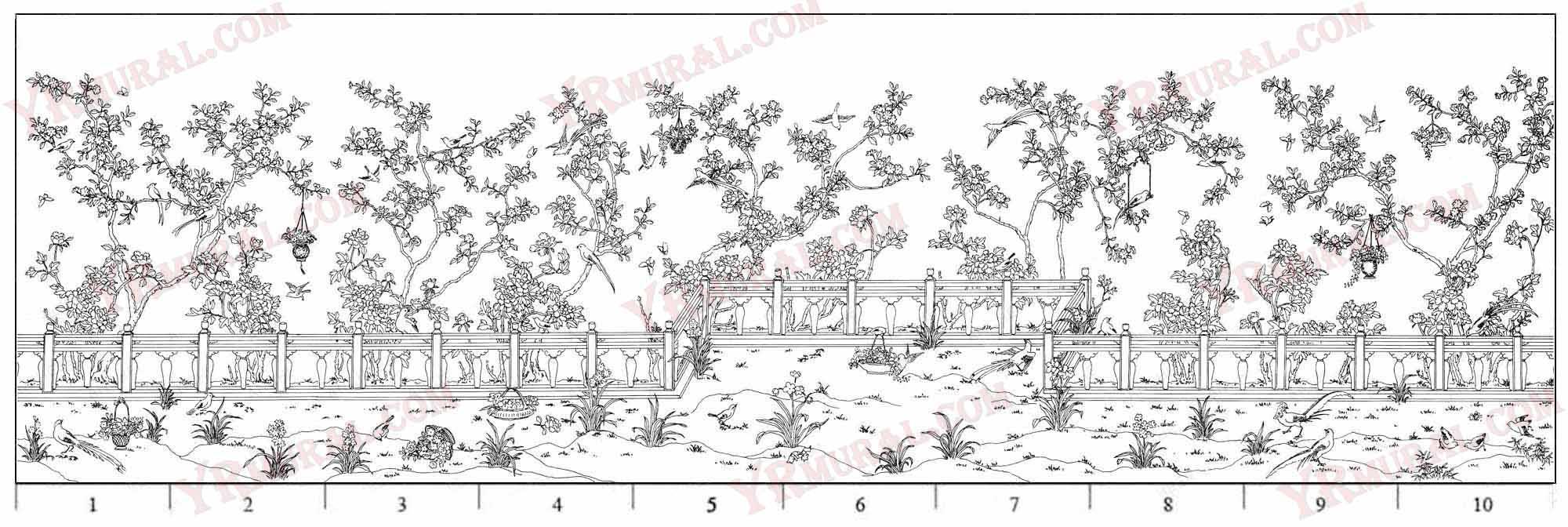 C-012 Blossom Gardens