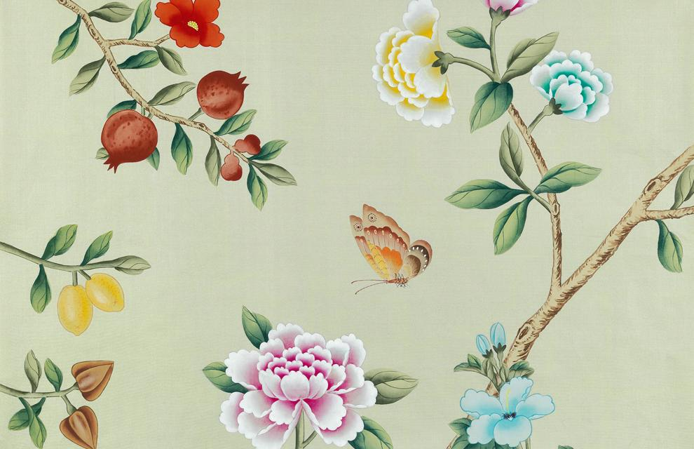 Confetti - Contemporary Chinoiserie