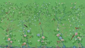 Chnoiserie Wallpaper of Earlham design o