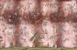 Standard Color on Rose Antique