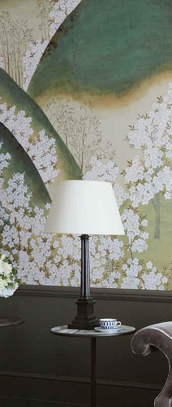 Kiso Mountains  On Silk Wallpaper - Japa