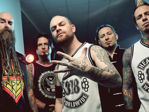 Five Finger Death Punch 9.Albümünü Kaydediyor!