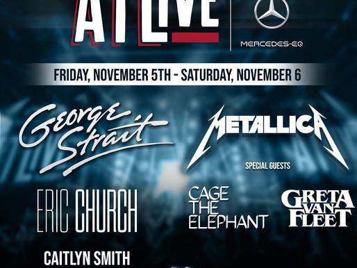 Metallica, Cage the Elephant ve daha fazlası Atlanta'nın 2021 ATLive Konserinde Sahne Alacak!