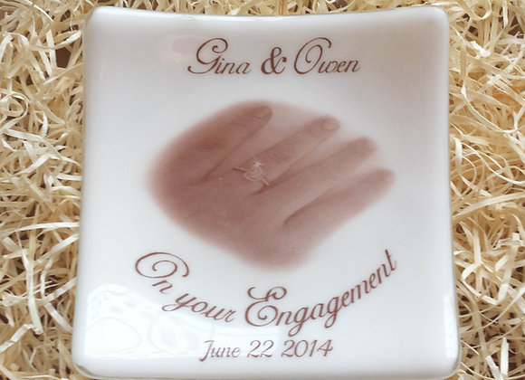 Engagement / Wedding Plate