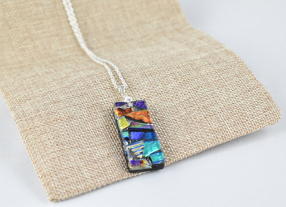 Dichoric Glass Necklace