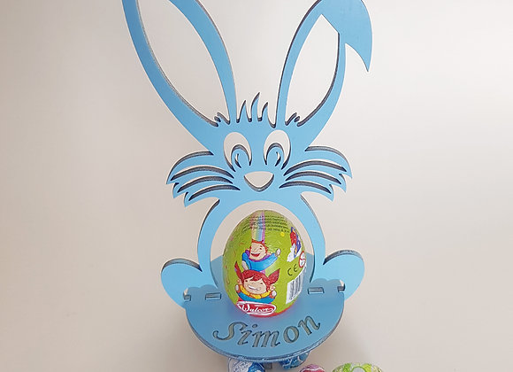 Personalised Easter Bunny Blue