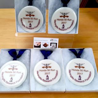Medals Awards Honda Run 50 2017