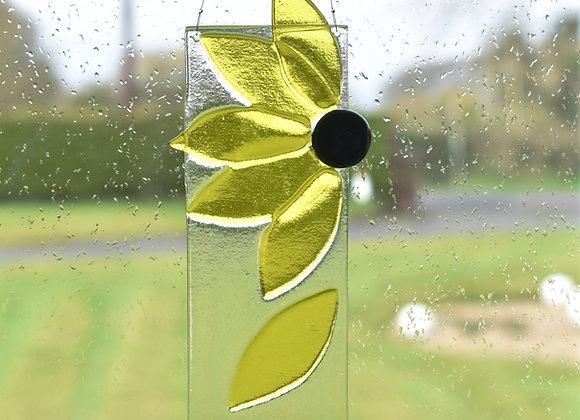 Flower Suncatcher in Yellow