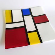 Mondrian Inspired Platter