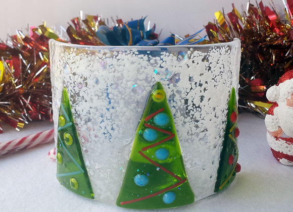 Festive Forest Candle Shield