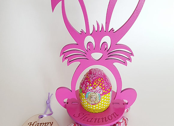 Personalised Easter Bunny Pink