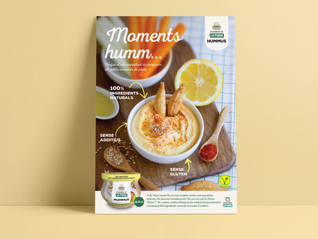 Magrana Taller realiza el anuncio del nuevo Hummus de El Huerto de La Piara