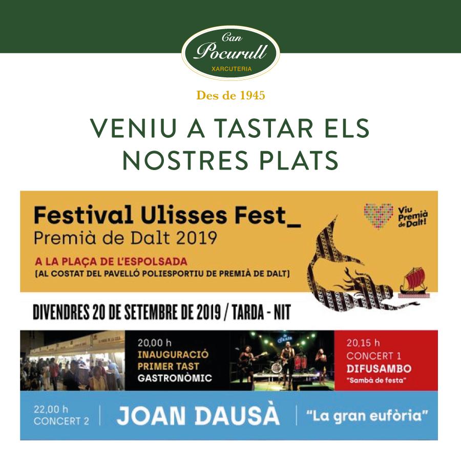 Can Pocurull al Ulisess Fest 2019 a Premià de Dalt