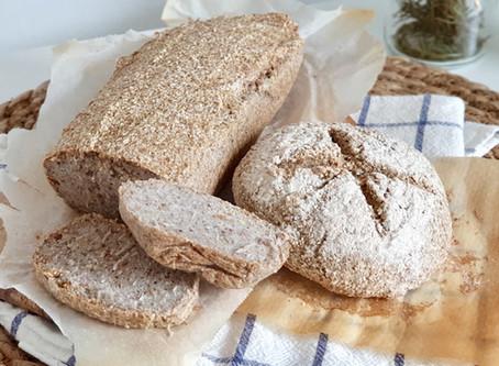 Receta pan de trigo sarraceno sin fermentar ni panificadora, muy fácil