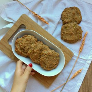 Galletss de trigo sarraceno y plátano sin gluten
