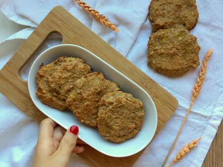 Galletas sin gluten de trigo sarraceno y plátano