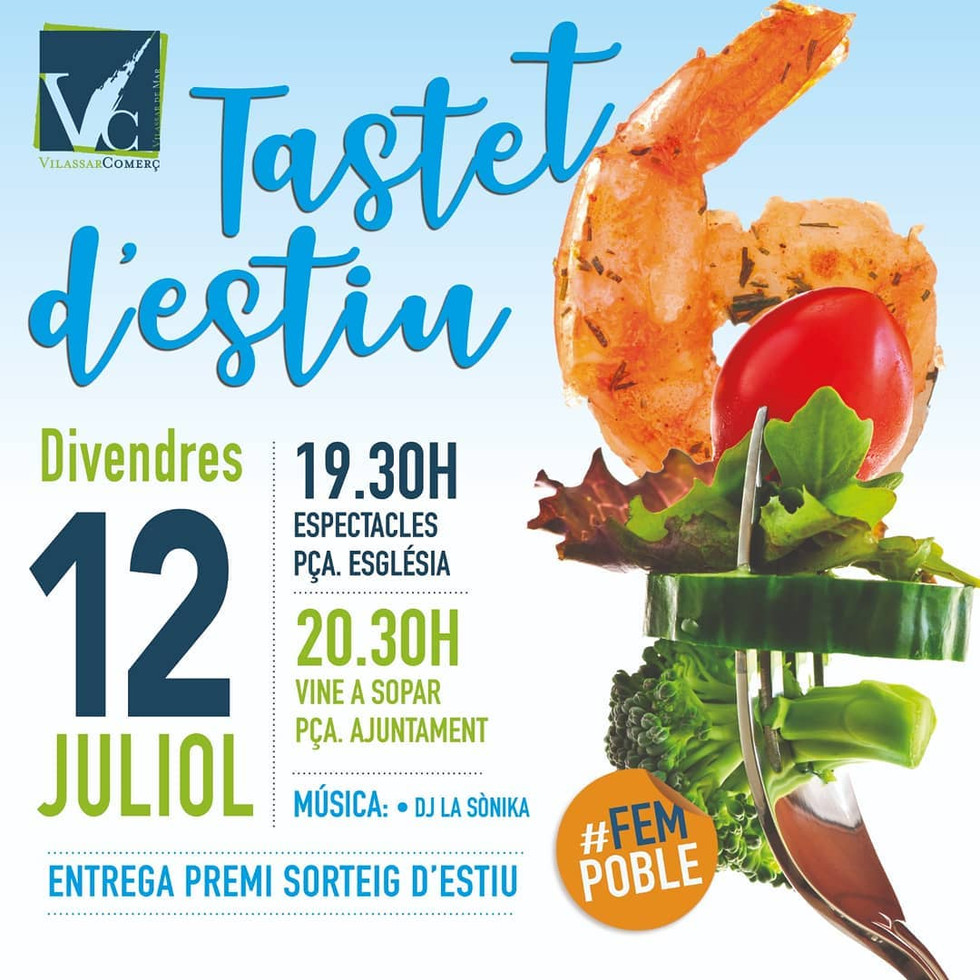 Can Pocurull al Tastet d'estiu 12 de juliol