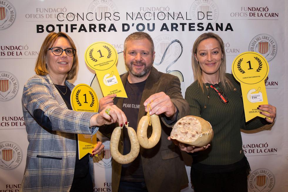 NOTA DE PREMSA El talent femení s'imposa al Concurs Nacional de Botifarra d'Ou Artesana 2020