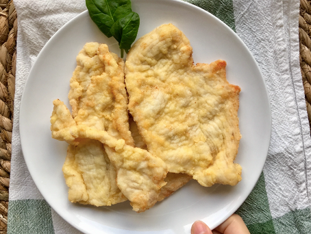 Pechuga de pollo rebozada sin gluten