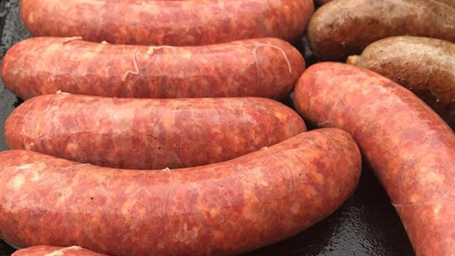 Regenerative Lamb and Beef Sausages