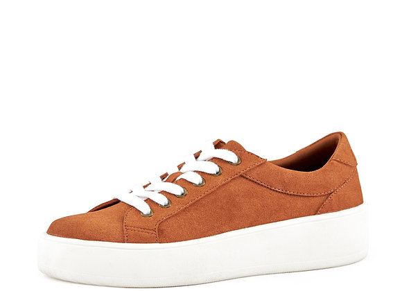 Women's Venice Micro Suede Lace Up Sneaker