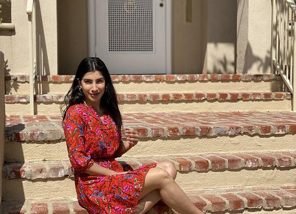Virgo Patterned Dress