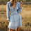 Thumbnail: Flowy Chiffon Ruffle Dress