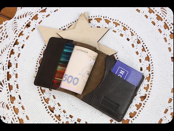 Кожаное портмоне Chocolate