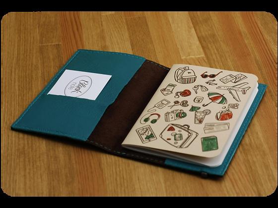 Обложка для паспорта Cyan