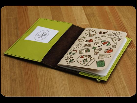 Обложка на паспорт Lime