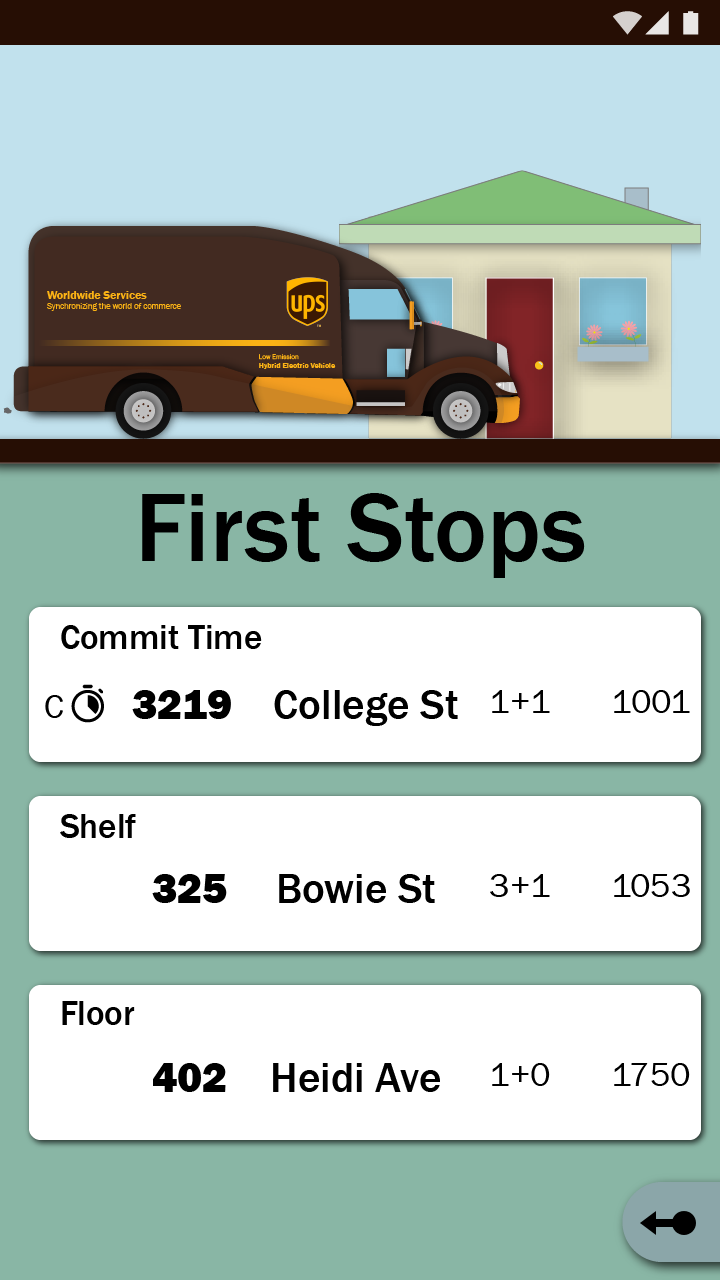 Preshift: First Stops