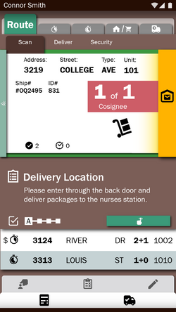 Delivery: Stop 1 Collect