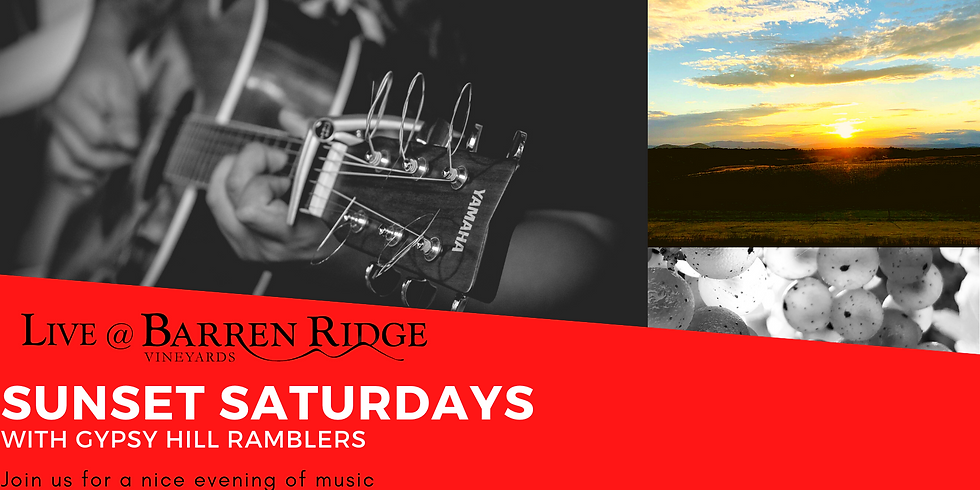 Sunset Saturdays with Gypsy Hill Ramblers