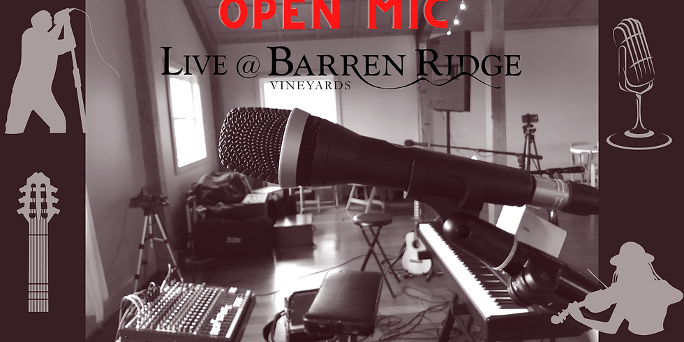 April Open Mic at Barren Ridge | Local Talent & Convivial Atmosphere