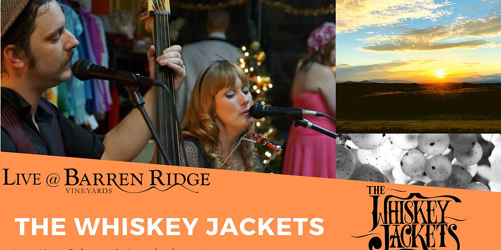 Sunset Saturdays 3-6 with The Whisky Jackets