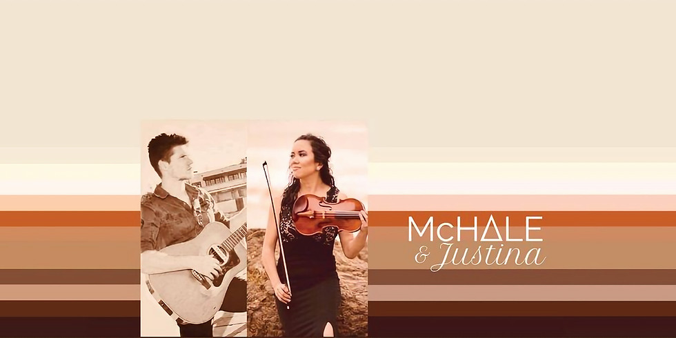 Sunset Saturdays with Mchale and Justina 3-6pm