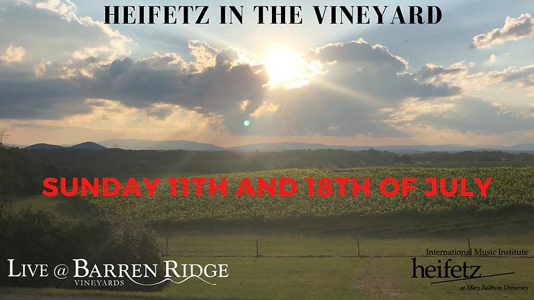Heifetz in the Vineyard 5PM