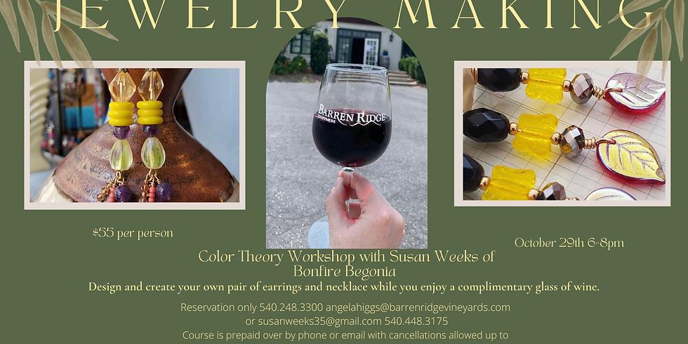 Jewelry Making workshop with Susan Weeks