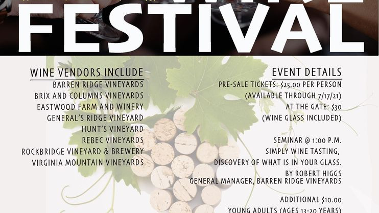 Augusta County Fair Wine Festival